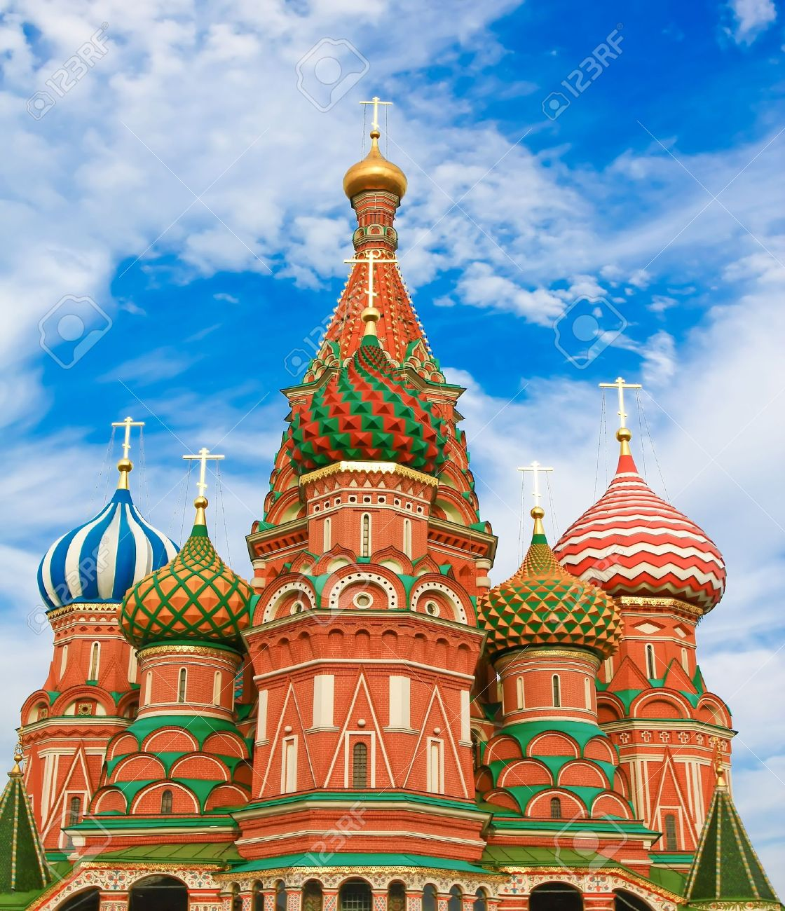 St. Basil's Cathedral on Red square, Moscow, Russia Stock Photo - 9740776