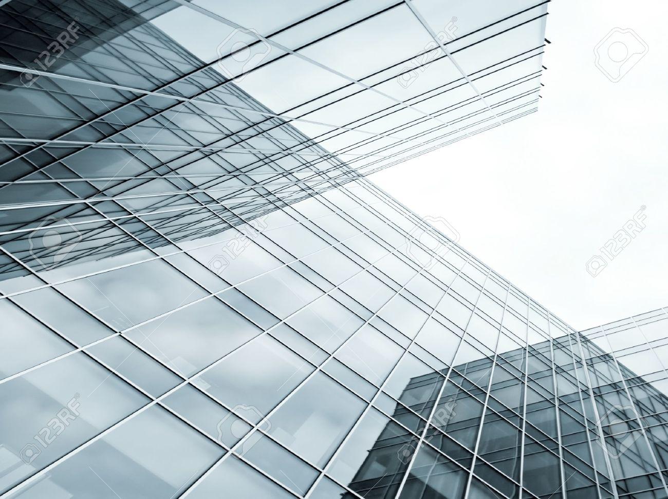 contemporary striped black texture of glass architecture Stock Photo - 10488771
