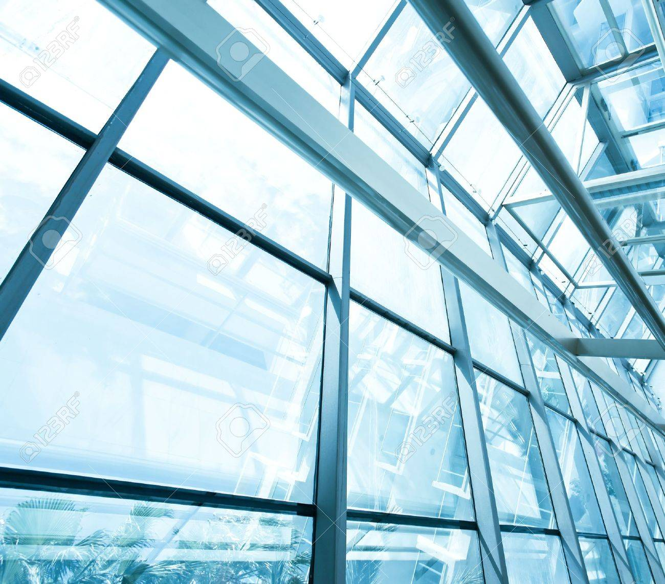 contemporary glass roof Stock Photo - 10980711