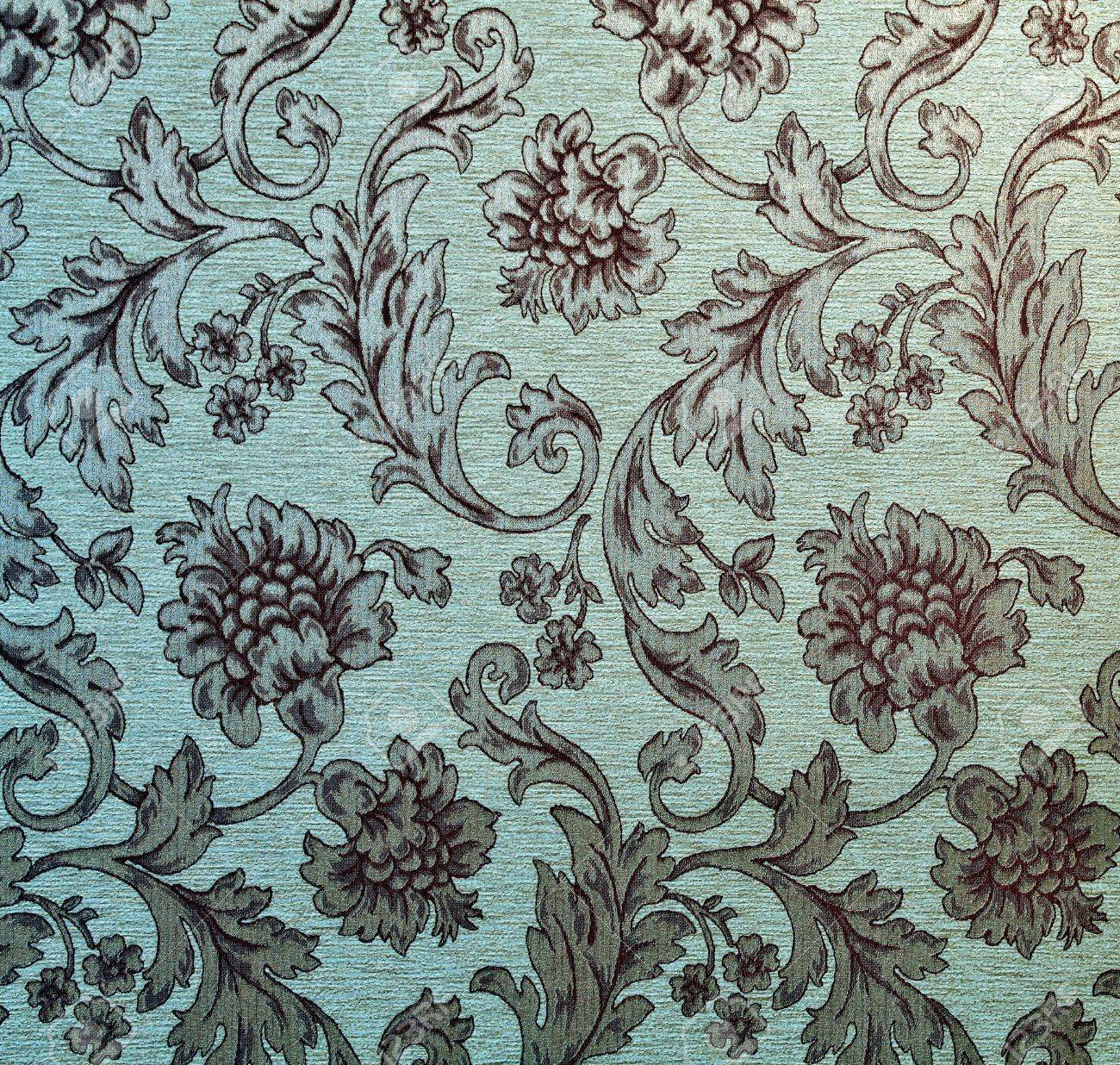 Vintage traditional fabric texture background Stock Photo - 17685972