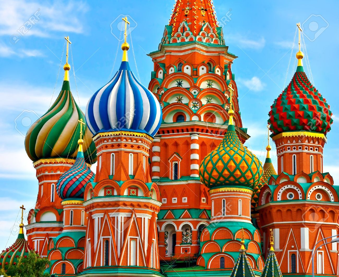 The Most Famous Place In Moscow, Saint Basil's Cathedral, Russia Stock Photo - 19484399