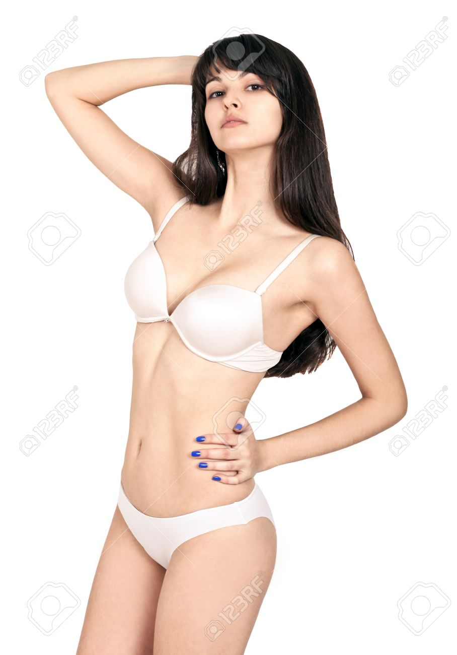 Woman with sexy body