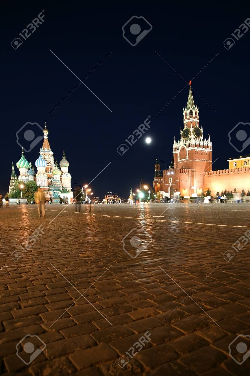 Red Square at night, Moscow, Russia Stock Photo - 11314357