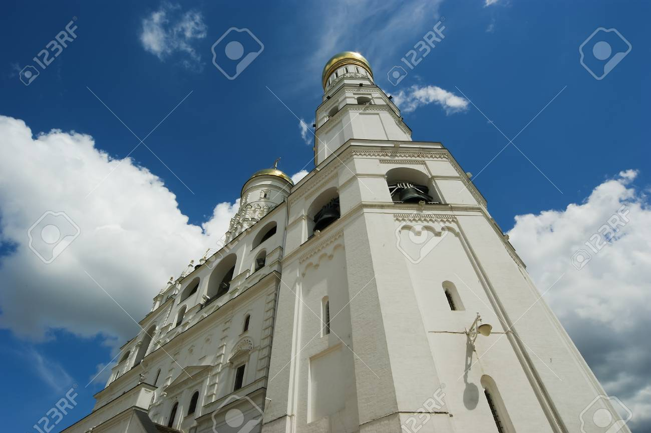 Ivan the Great Bell. Moscow Kremlin, Russia. Stock Photo - 21205212