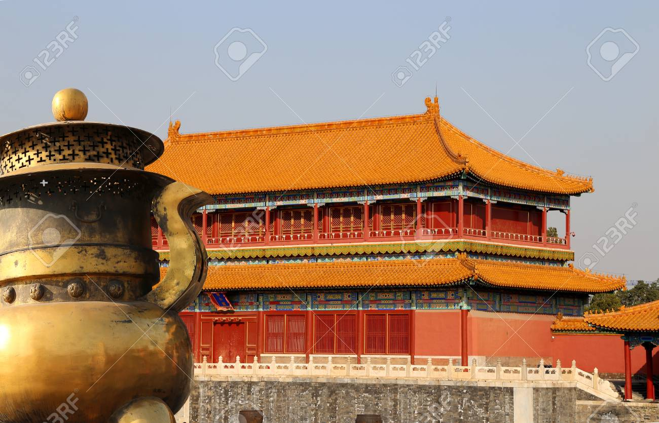 Forbidden City Beijing China Was The Chinese Imperial Palace From Ming