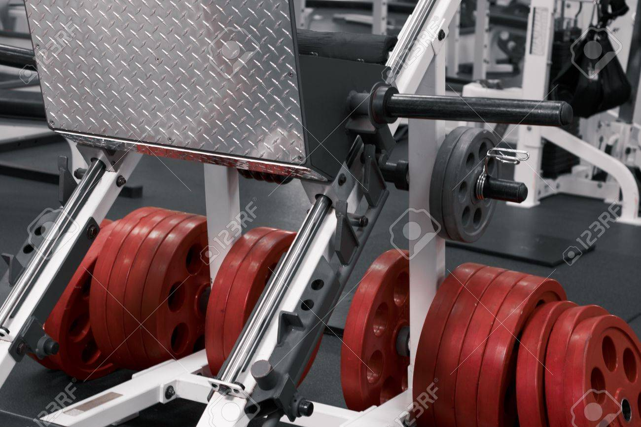 Close up train simulators and details in sporting room Stock Photo - 10750323