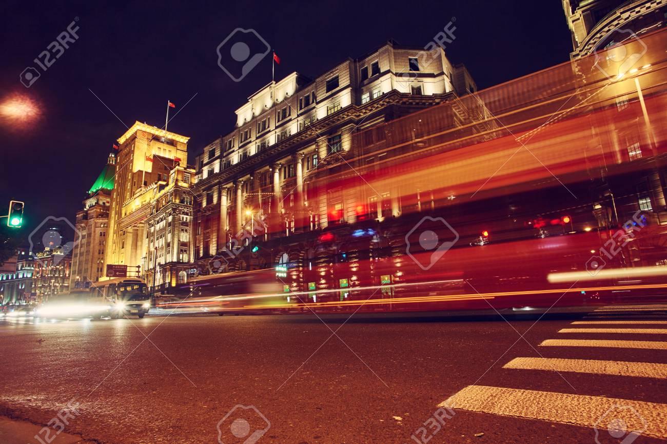 Immagini stock illuminazione notturna di notte fuori dalla città