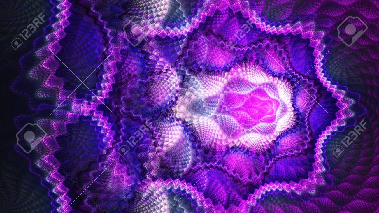 Waage. Muster Auf Stoff. Offene Häkeln 3D Surreale Abbildung ...