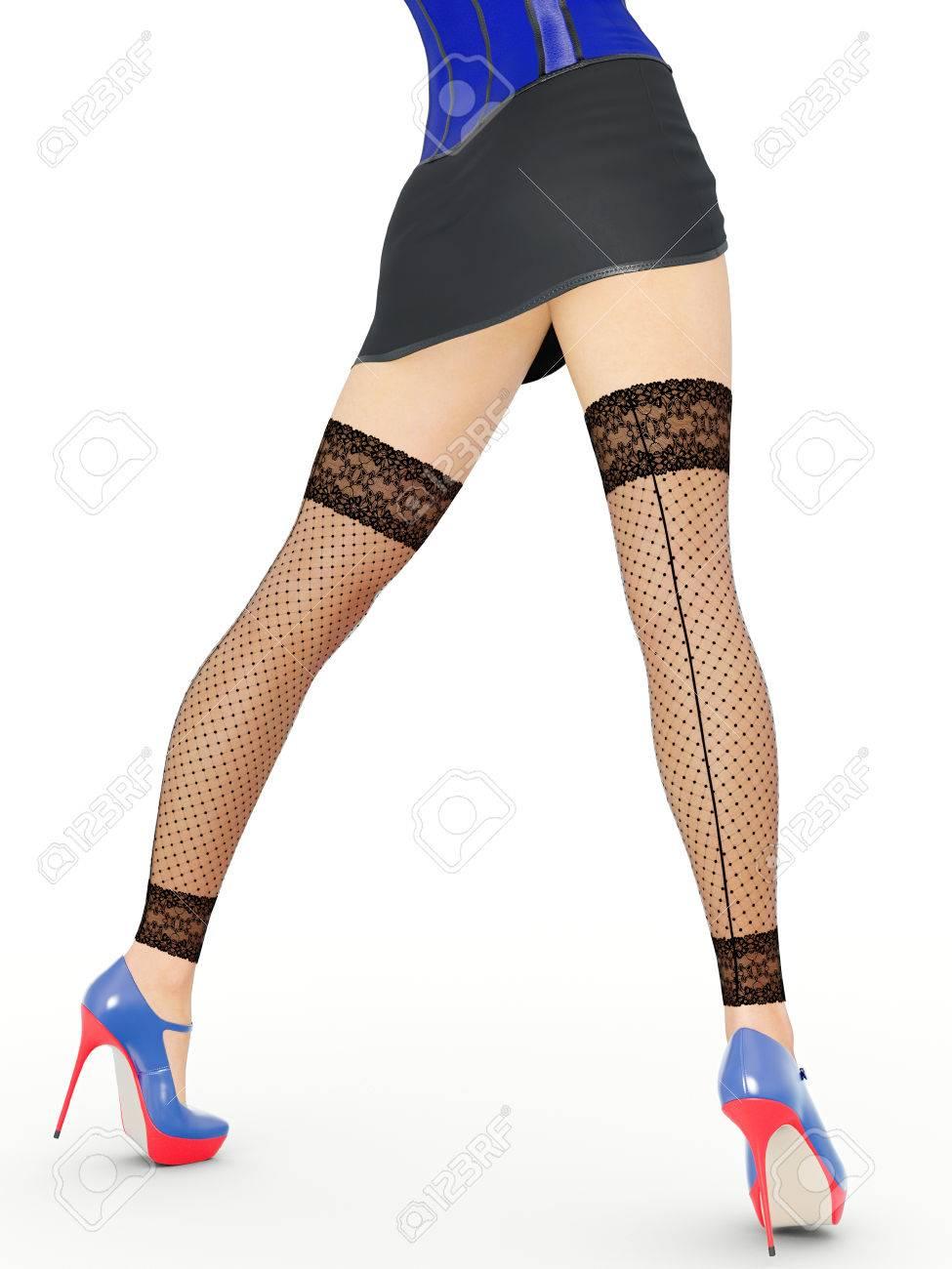 Milf Stockings Heels Anal