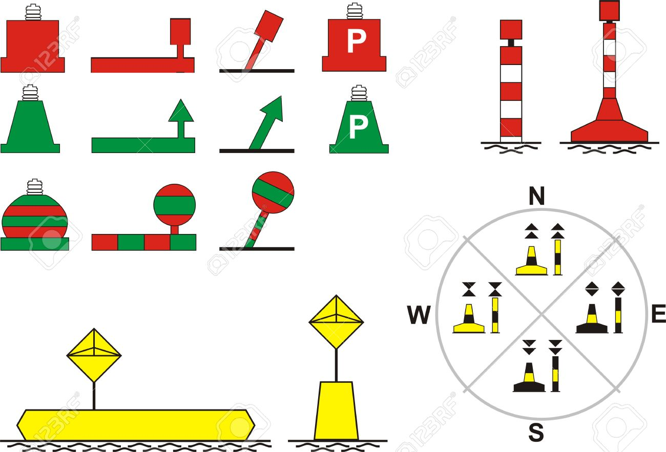 Cliparts Illustration Image For Buoys 5466876 Royalty River Free Illustration Navigation And Vector Stock Floating Vectors