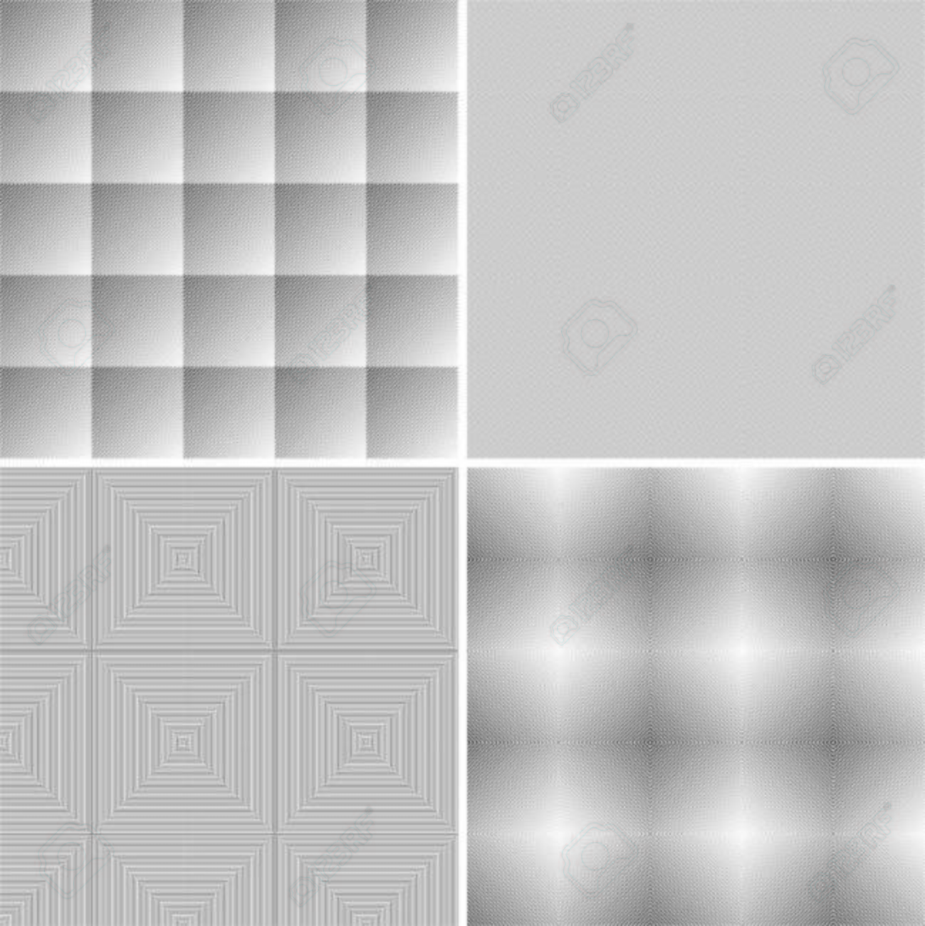 Abstract geometric background, gray and white graphics, vector Stock Vector - 5525148