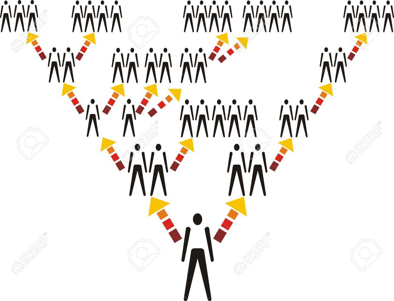 Network structure with icon figure vector illustration Stock Vector - 5525153