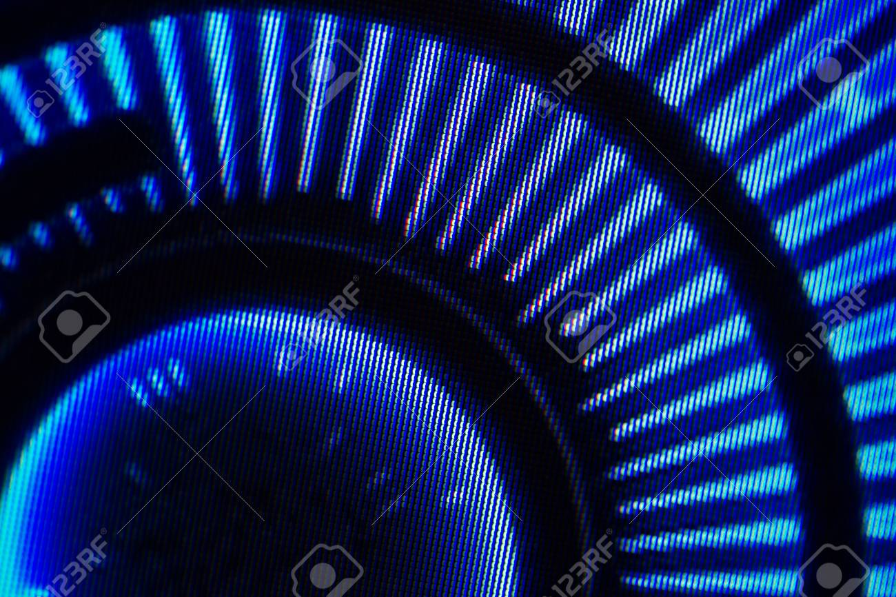 Light Emitting Diodes For LED Display. Digital LED Screen Background Stock  Photo   82872479