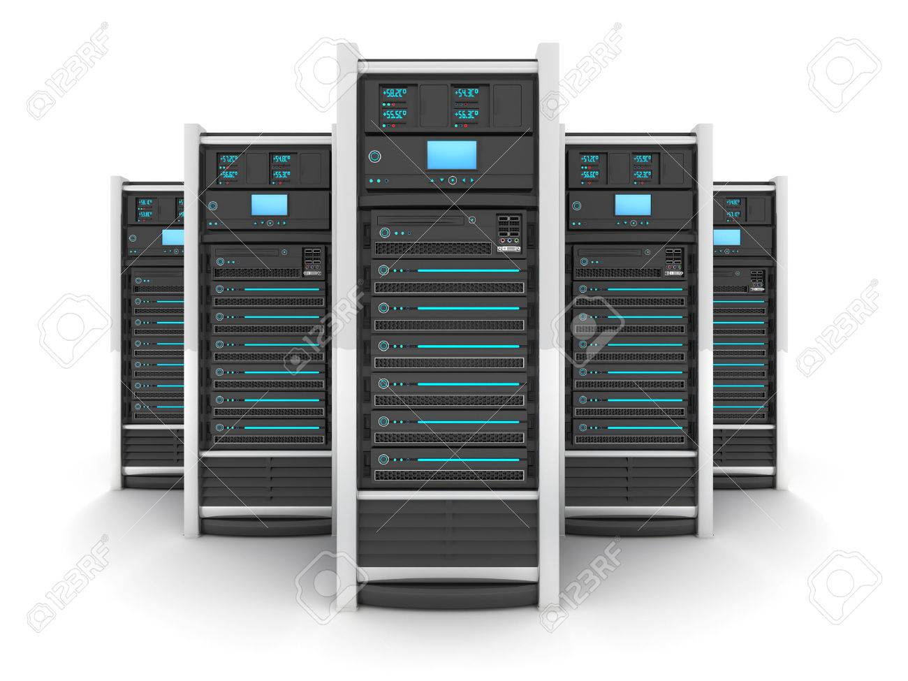 Five Server high-end, view front (done in 3d) - 36155696