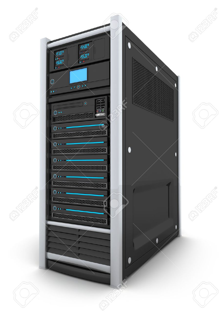 server high-end only (done in 3d, isolated) - 44153446