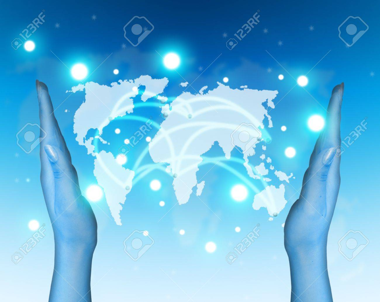 Transport and internet communications concept Stock Photo - 10032560