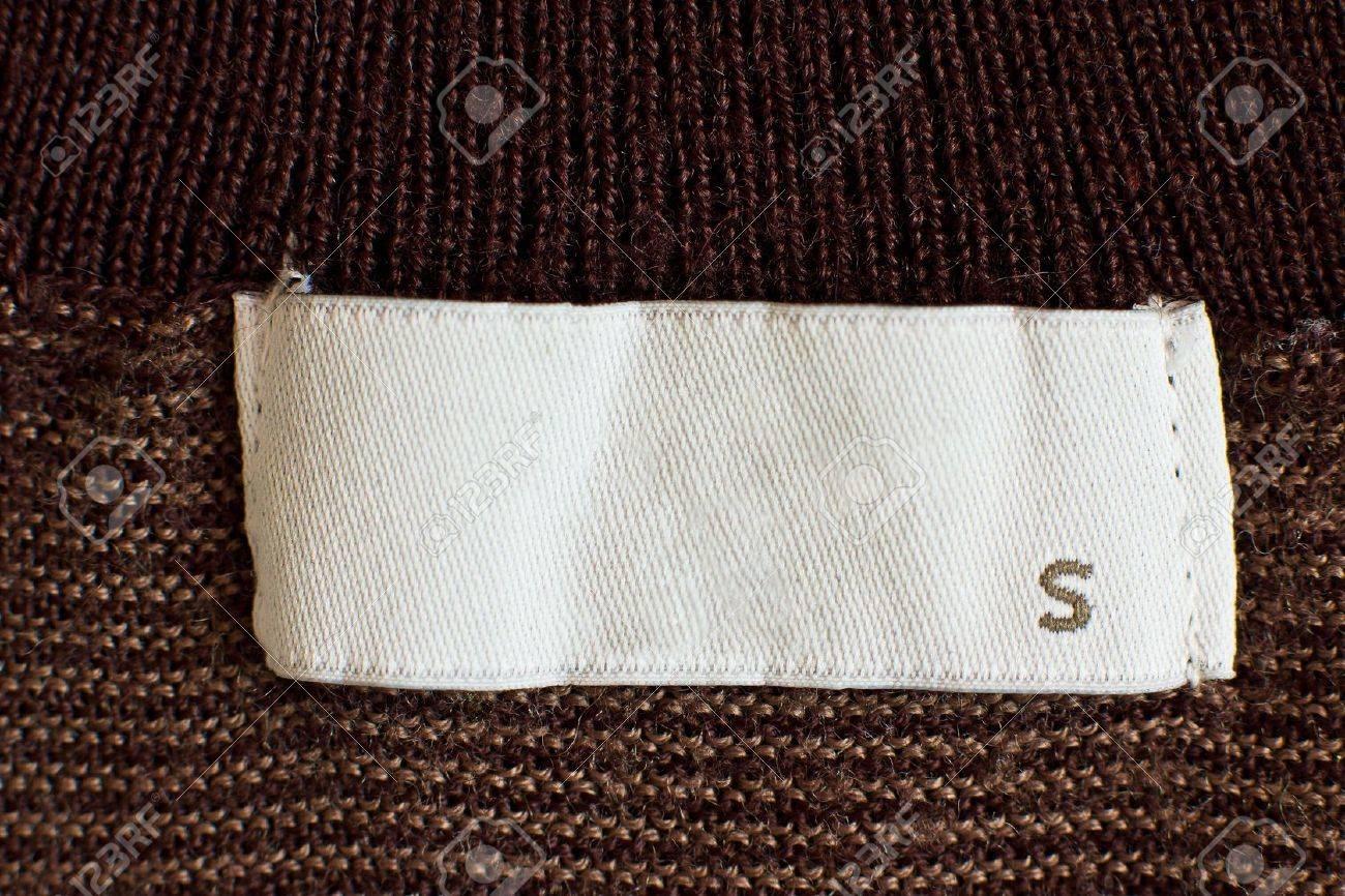 Macro of s size clothing label Stock Photo - 13197933