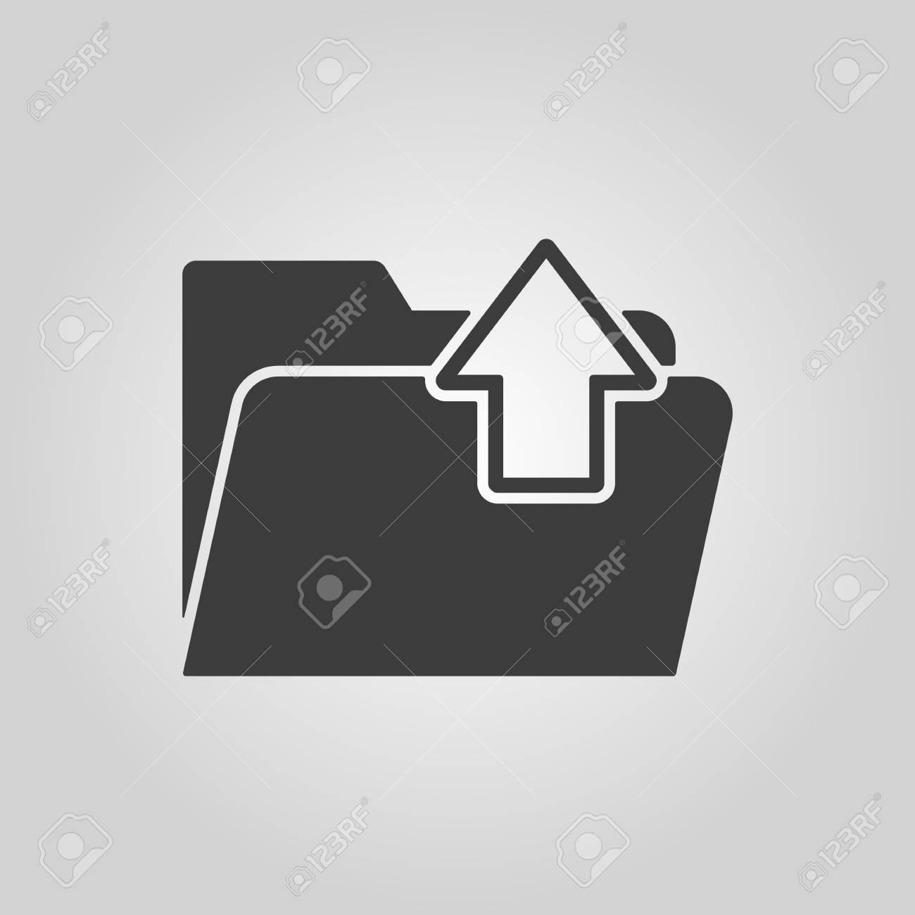 Goutte d'eau signe icône. Symbole tear. Télécharger flèche.