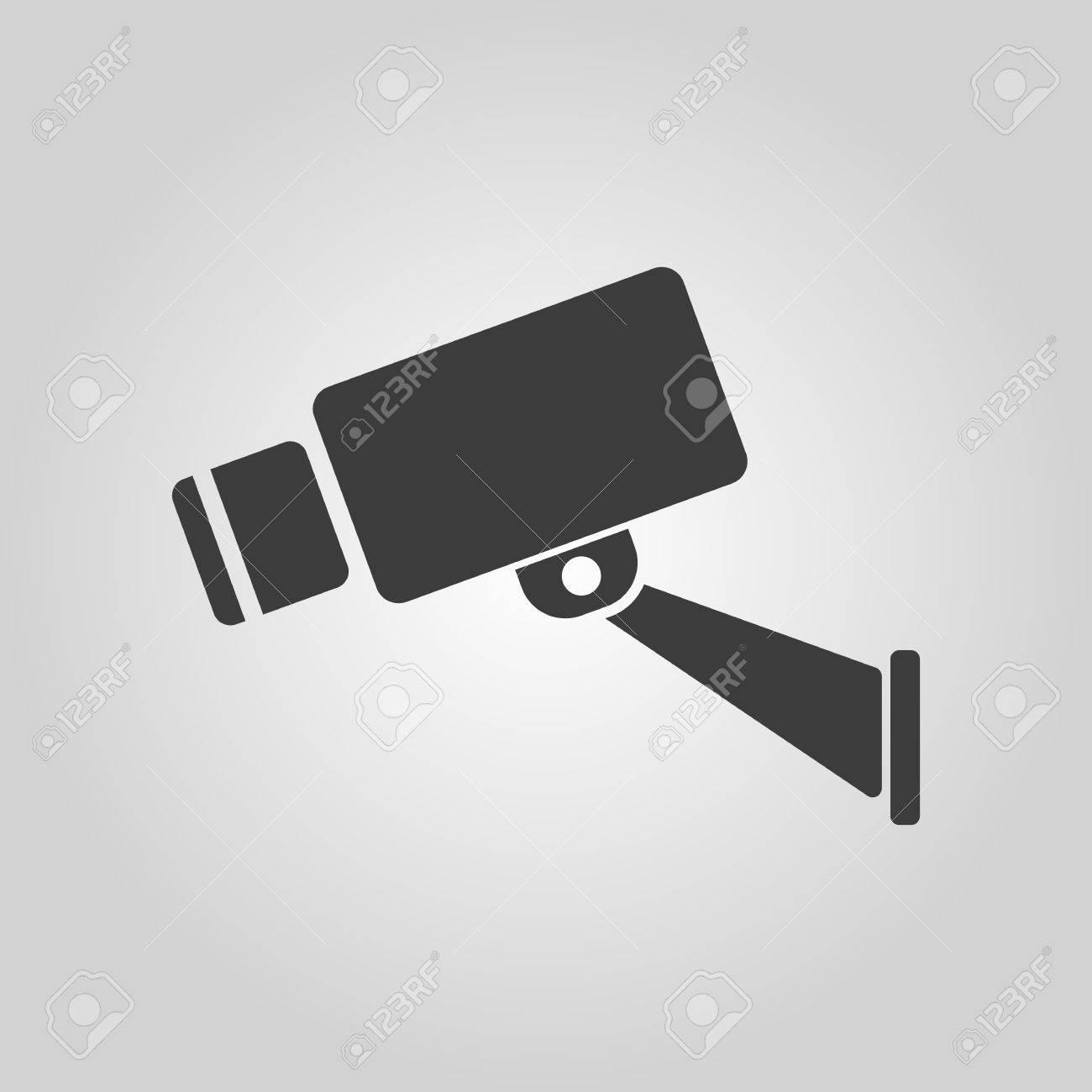 Circuito Cerrado : El icono de circuito cerrado de televisión cámara y vigilancia