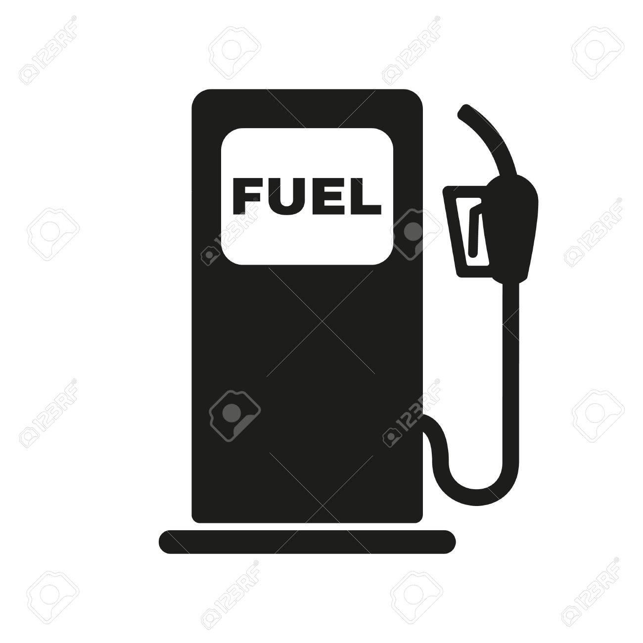 ガソリン スタンドのアイコン。...