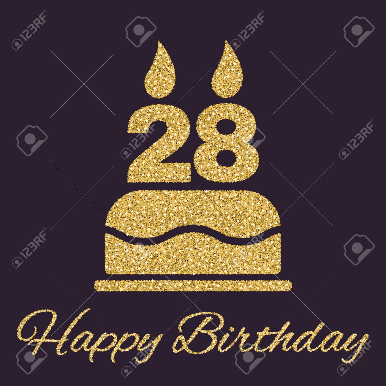 Marvelous Gold Candle Gold Topper Number Candle Gold Birthday Candle Happy Funny Birthday Cards Online Alyptdamsfinfo