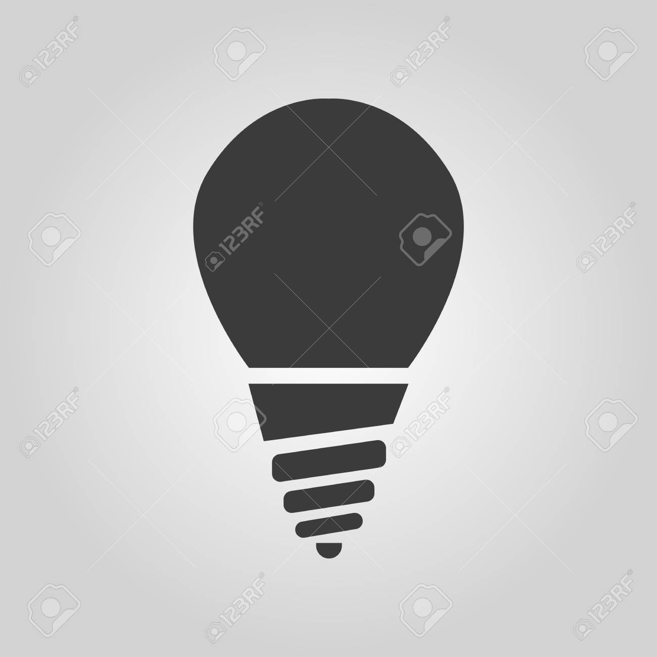 The Incandescent Lamp Icon Lamp And Bulb Lightbulb Filament