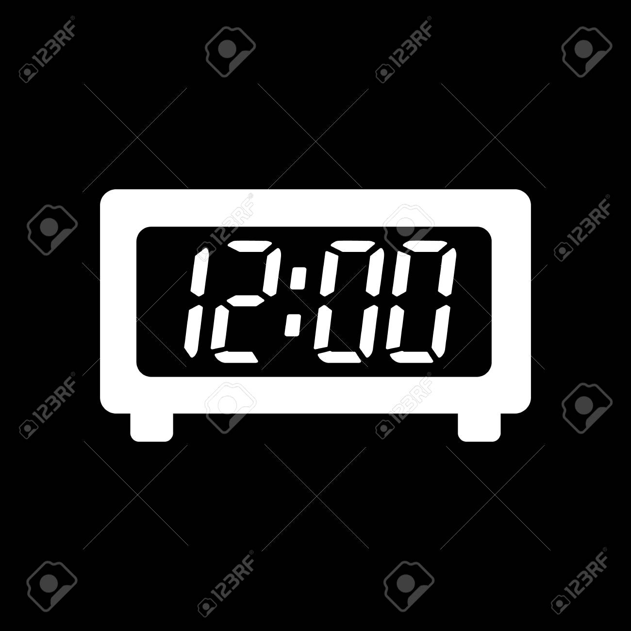 time clock icon time and watch timer clock symbol ui web