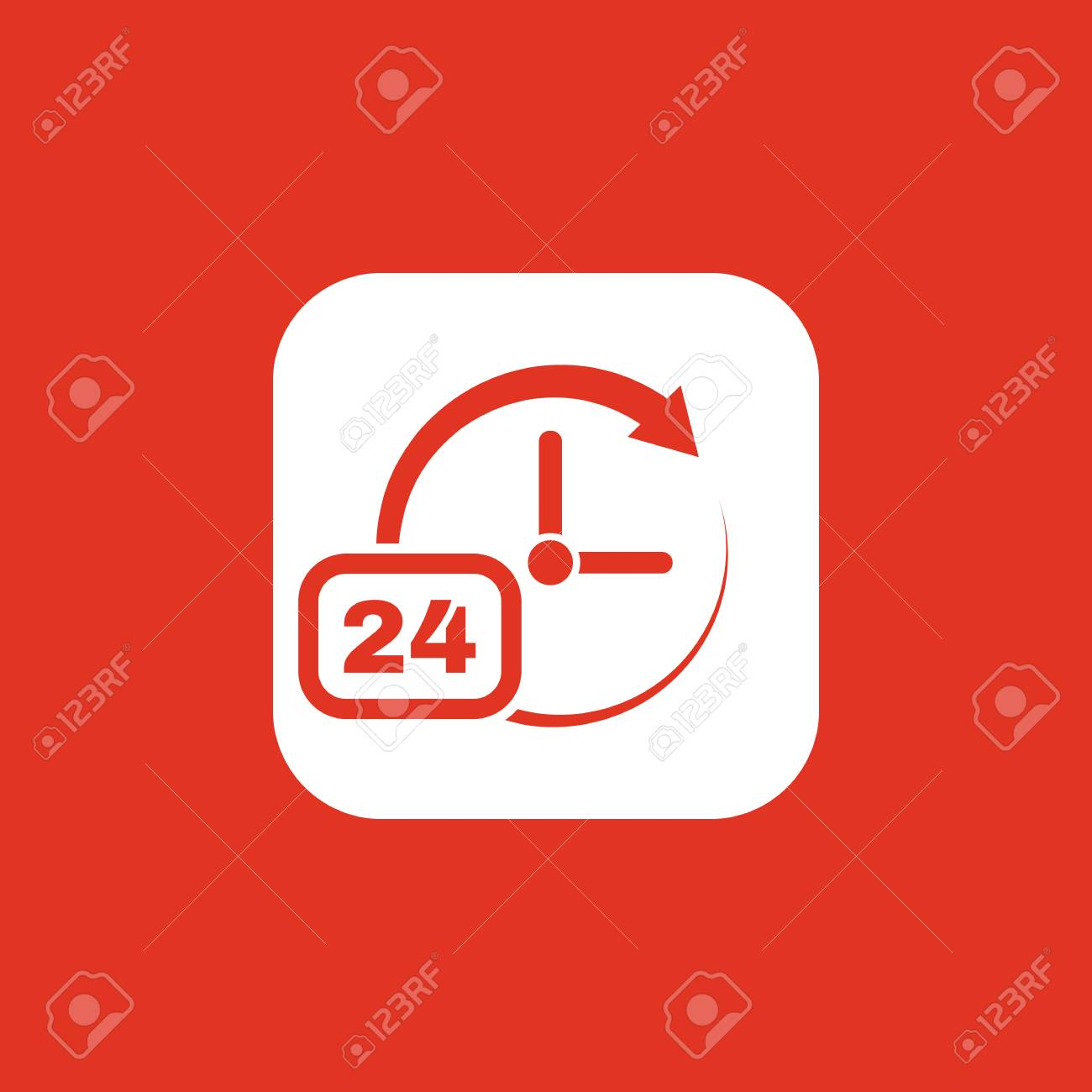 Time, clock icon  Time and watch, timer, clock symbol  UI  Web