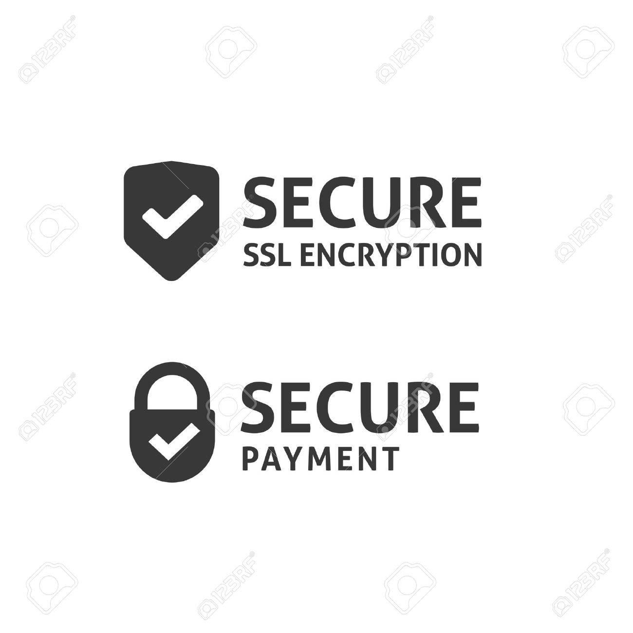 Secure connection icon vector isolated black and white secured secure connection icon vector isolated black and white secured ssl shield and padlock symbols buycottarizona