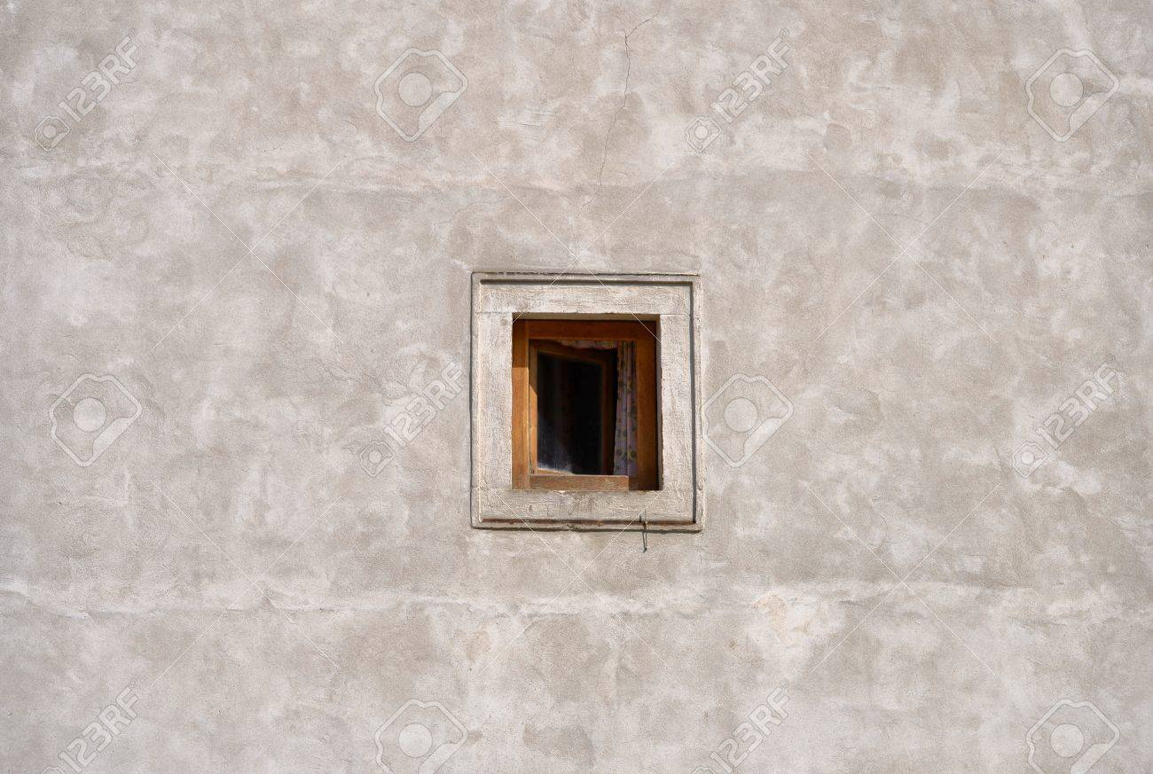 Small Window On The Wall Stock Photo, Picture And Royalty Free Image. Image  20962396.