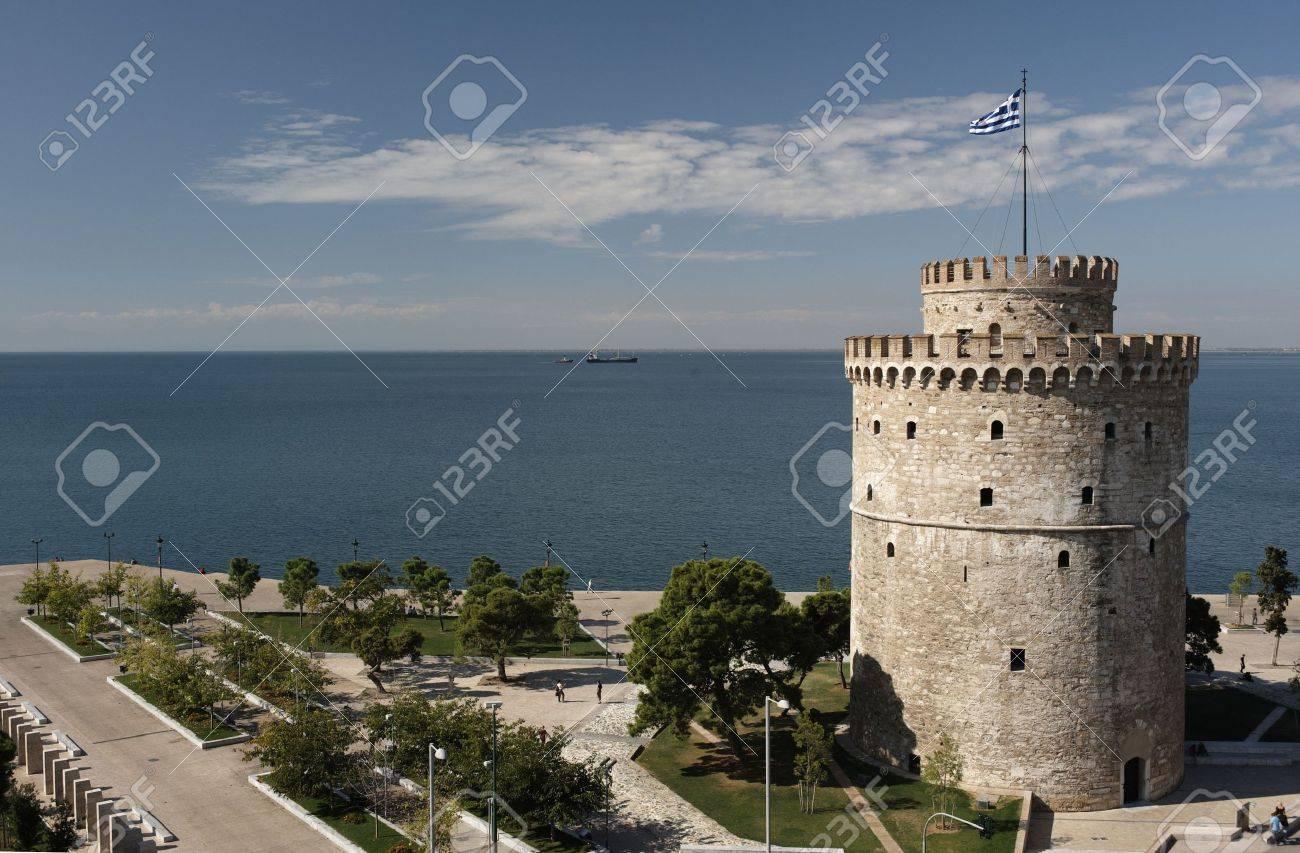 ホワイト タワーとテッサロニキ,...
