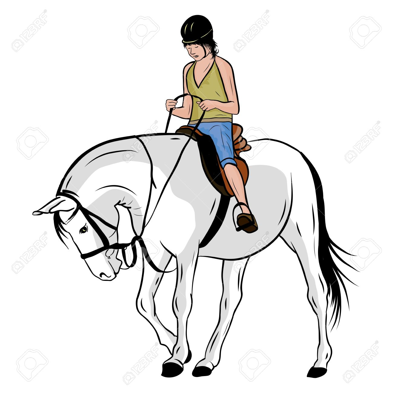 12 388 Horse Riding Cliparts Stock Vector And Royalty Free Horse