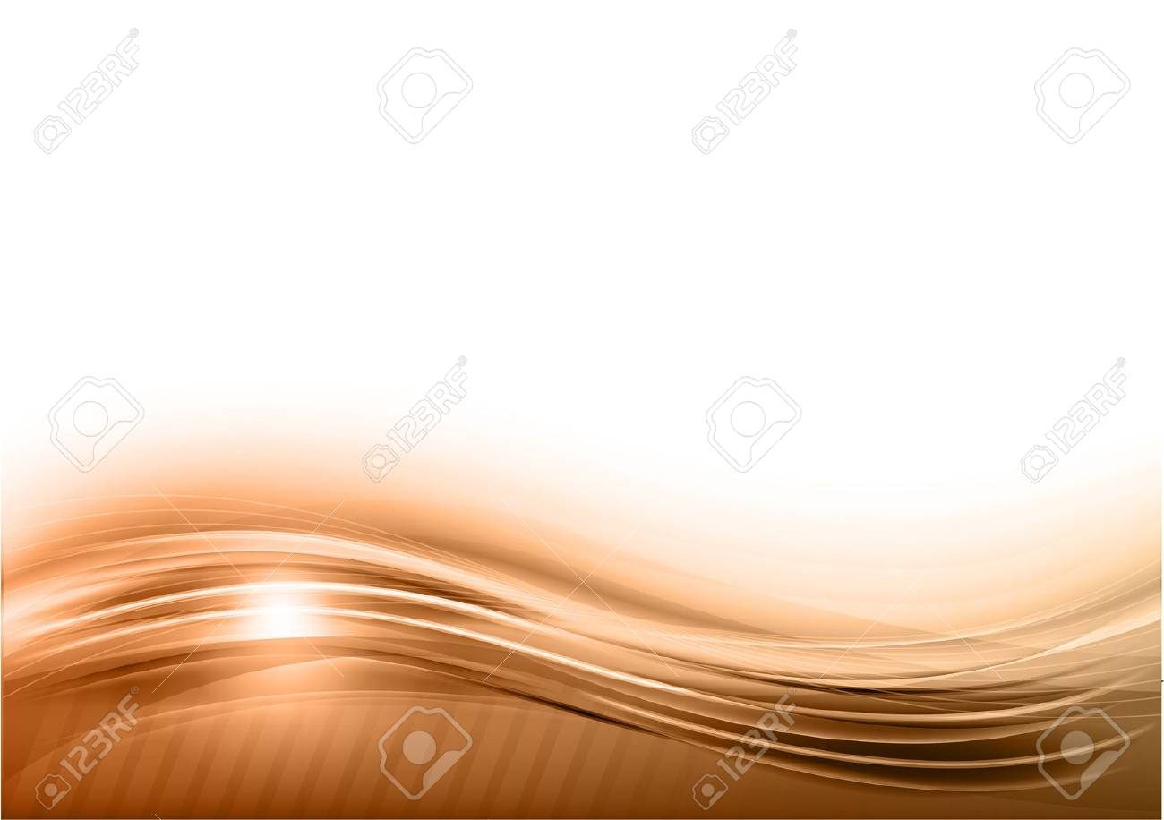 wave abstract background on the white - 19019818
