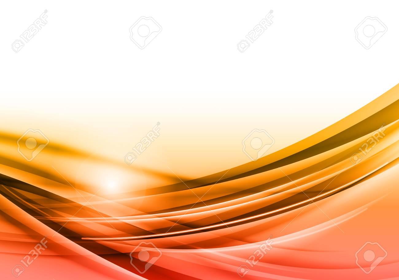abstract orange background Stock Vector - 19983834