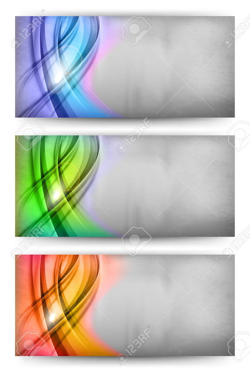 three card of abstract theme - 20885532