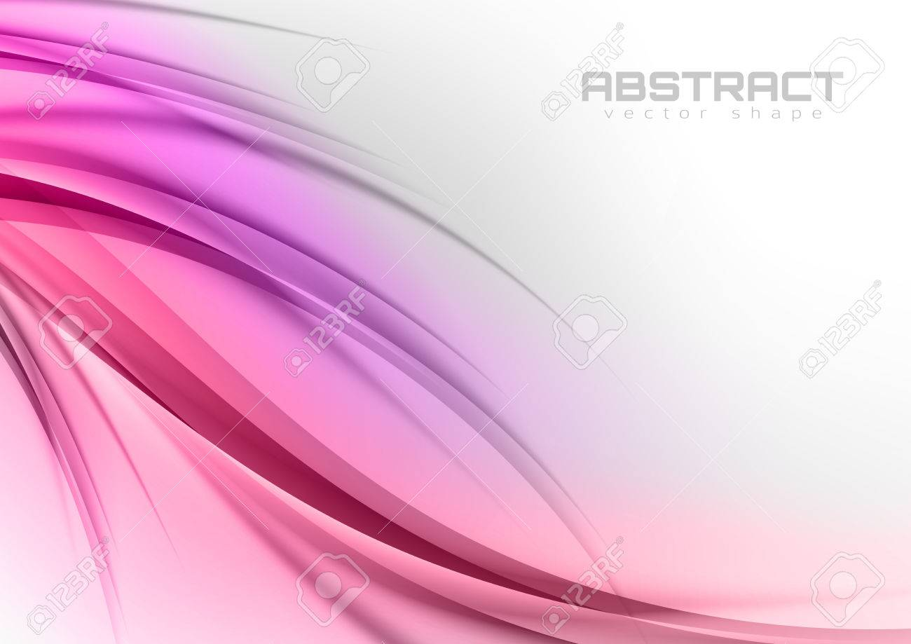 Abstract shapes in the sweet colors. Vector design elements. - 32652214