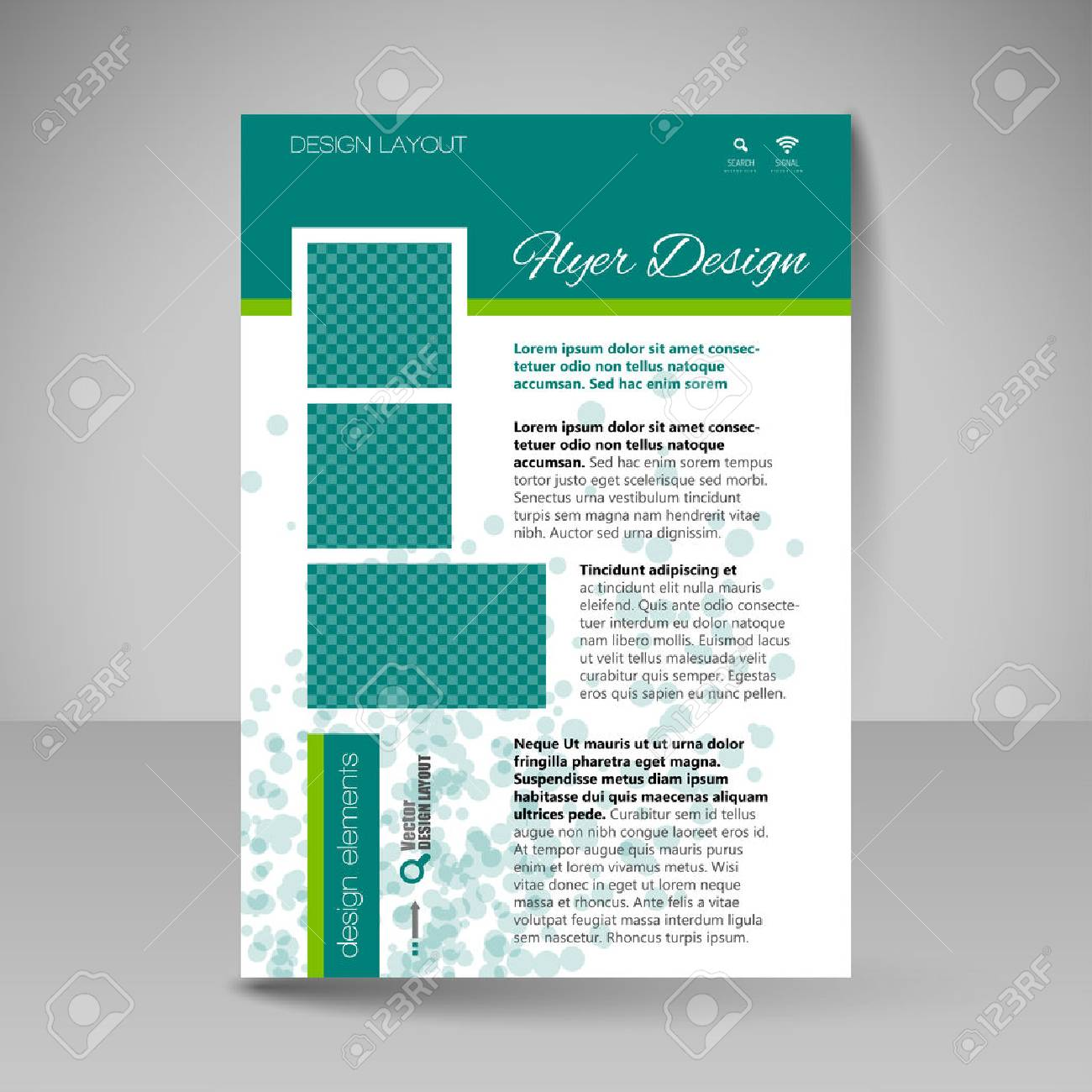 Template For Brochure Or Flyer Editable Site For Business - Travel guide brochure template