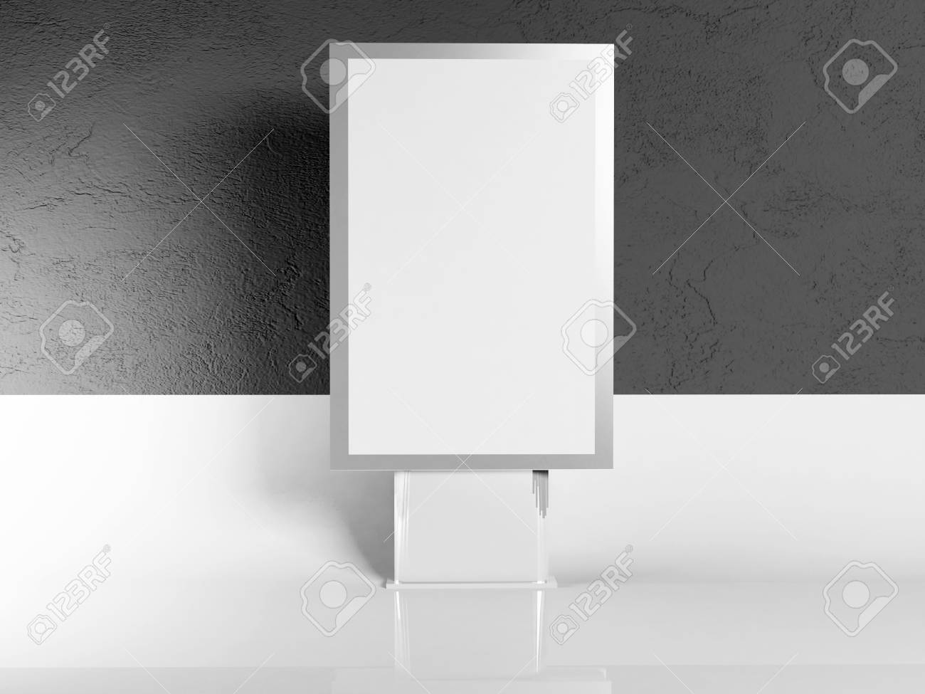 advertising billboard on white and gray background Stock Photo - 14679187
