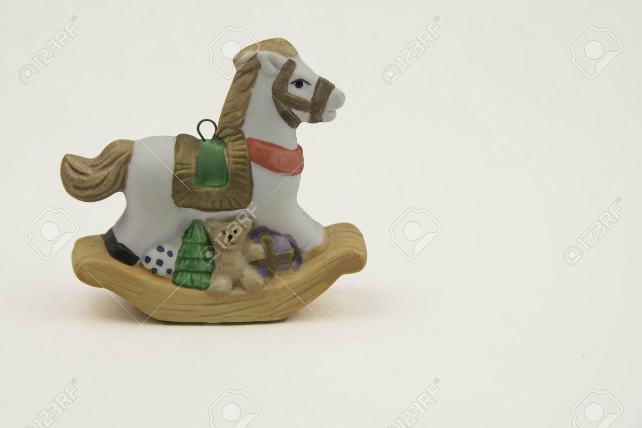 Rocking Horse Ornament Stock Photo Picture And Royalty Free Image Image 48031994