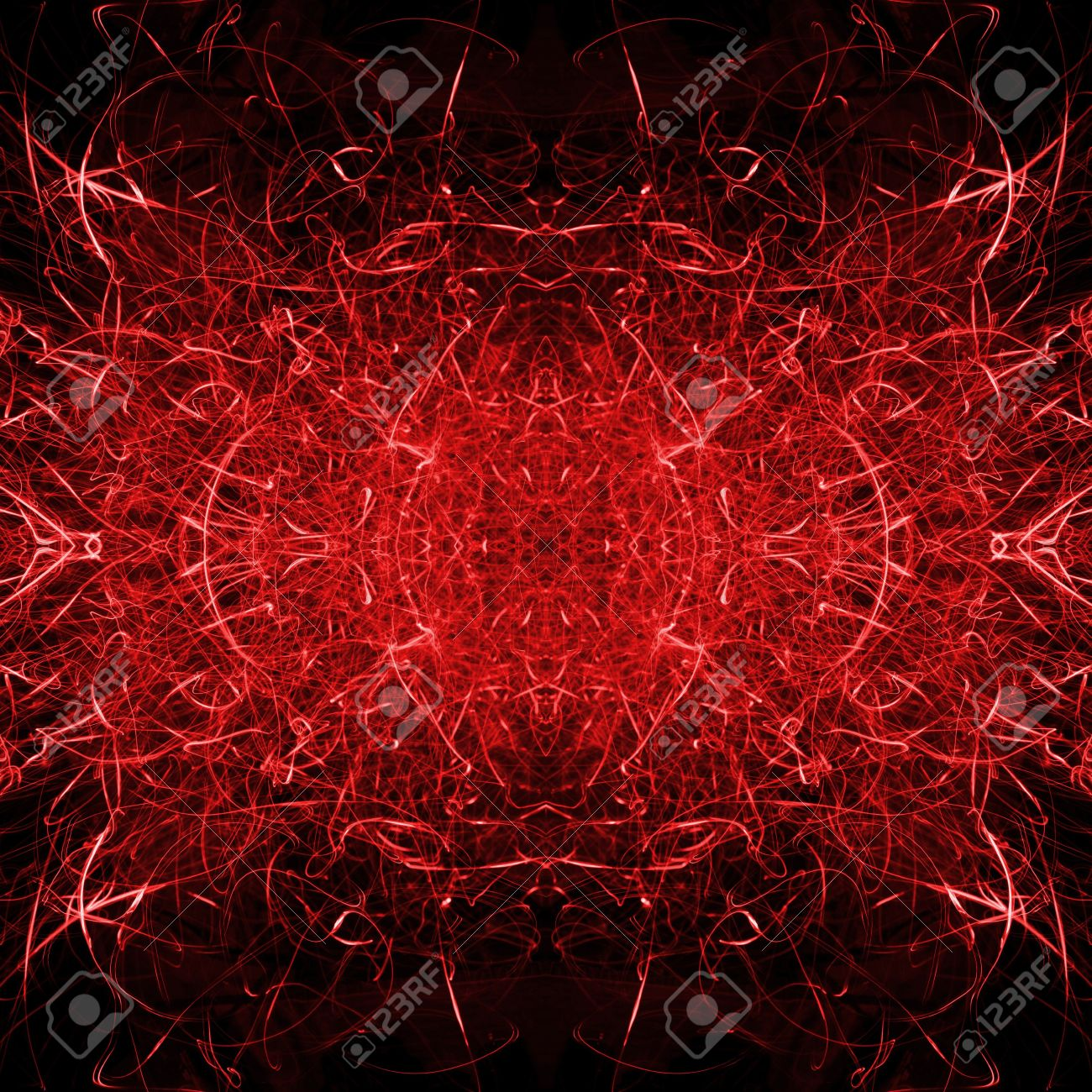 Fire Red Hot Flames And Sparks Background Texture With Satanic
