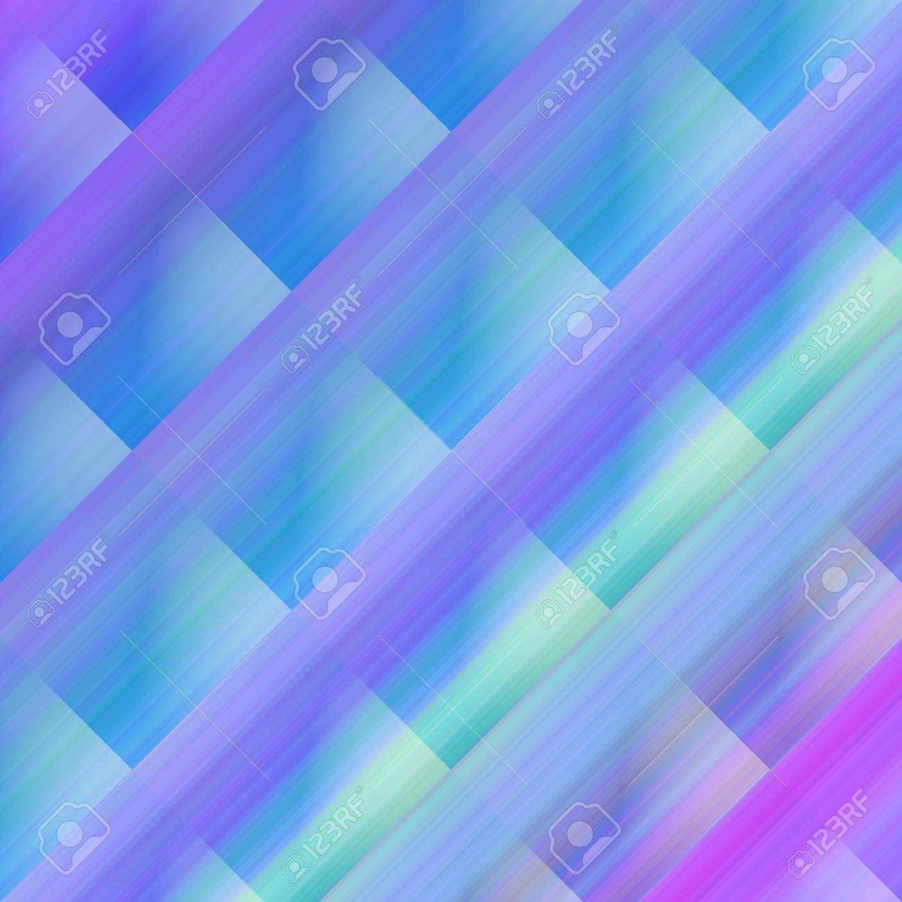 Abstract background image of blue and cold colors on squares Stock Photo - 6975117