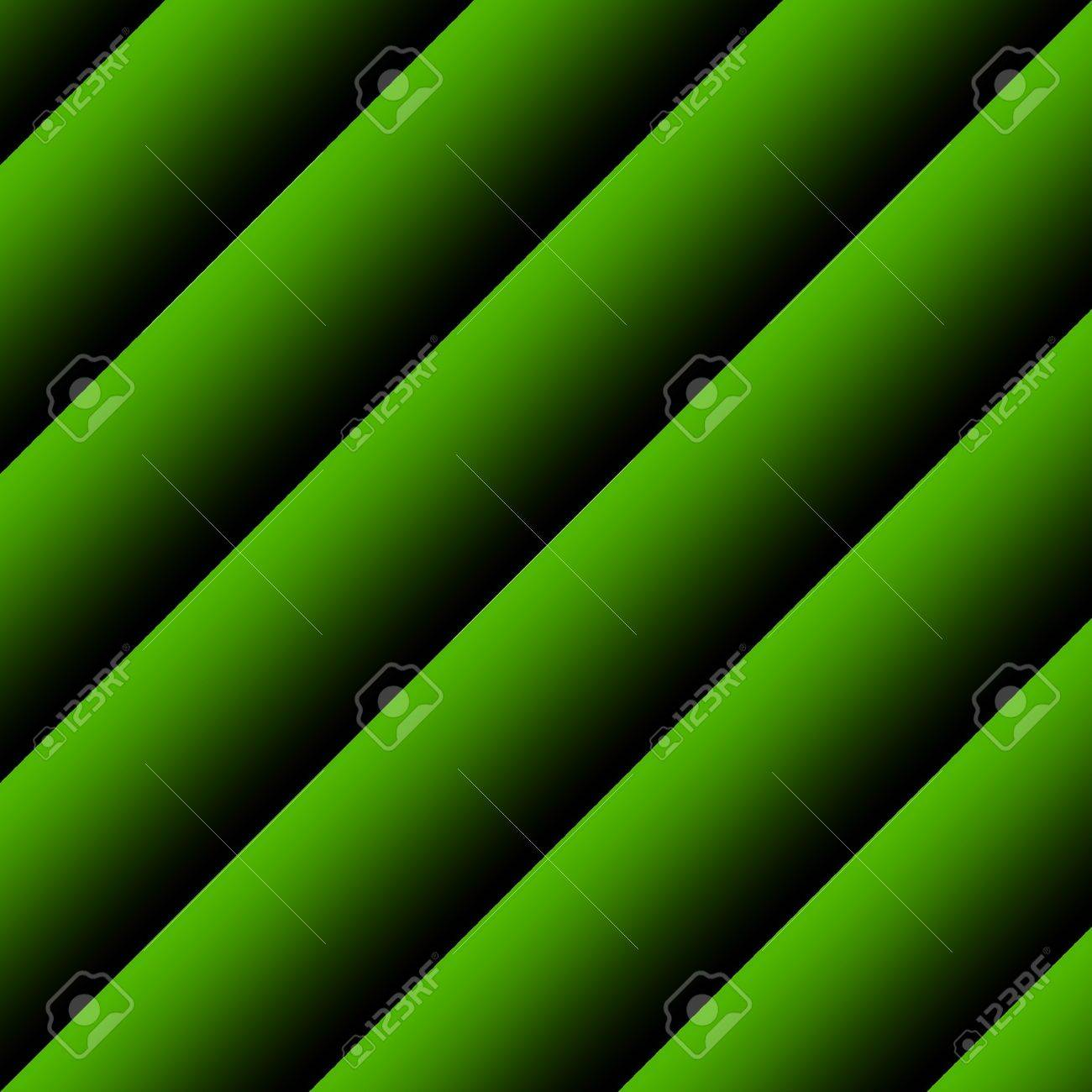 Abstract background image of green diagonal stripes in square frame Stock Photo - 7064617