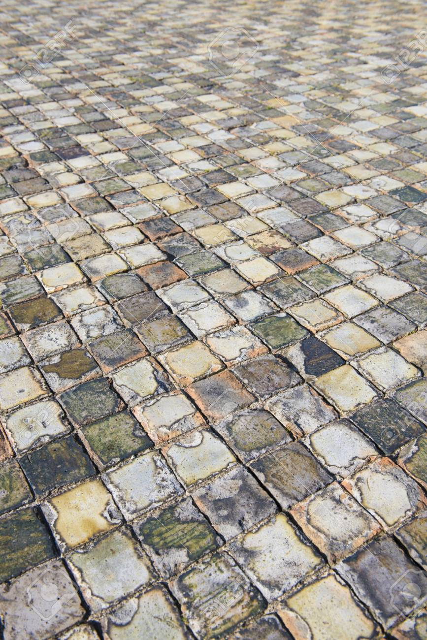 Very old and aged square tiles on the floor stock photo picture very old and aged square tiles on the floor stock photo 34554911 dailygadgetfo Images