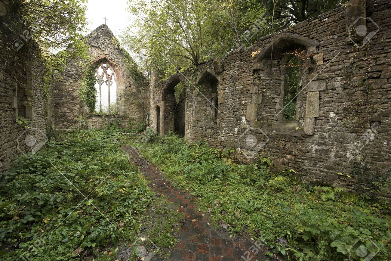 Abandoned Church st. mary's church is an abandoned church that was destoryed in