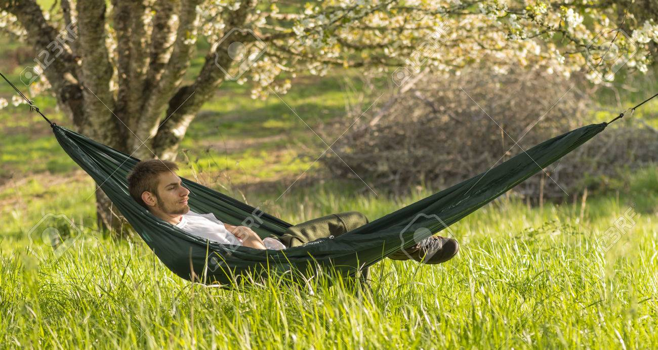grey double for use from relaxing product hammock outside copenhagen trimm