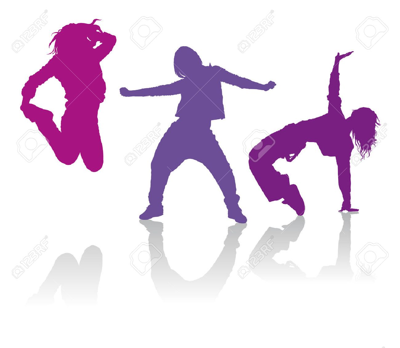 Detailed silhouettes of girls dancing hip hop dance detailed silhouettes of girls dancing hip hop dance 38937374 voltagebd Choice Image