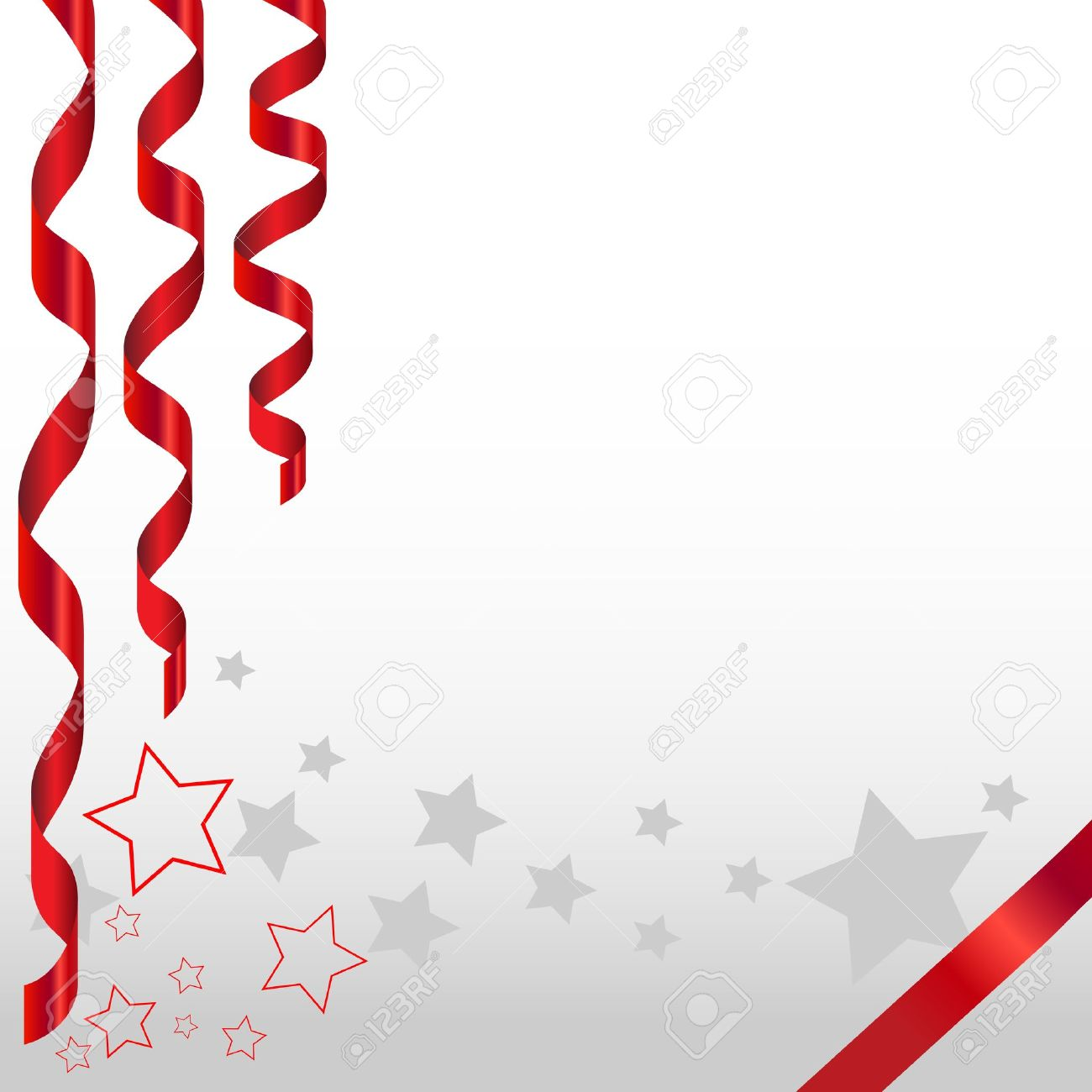 Celebration background with stars and narrow goods Stock Vector - 15071834