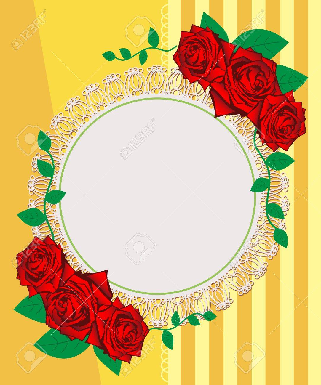 Vintage roses seamless pattern. Greeting Card. Abstract background. Stock Vector - 16272094