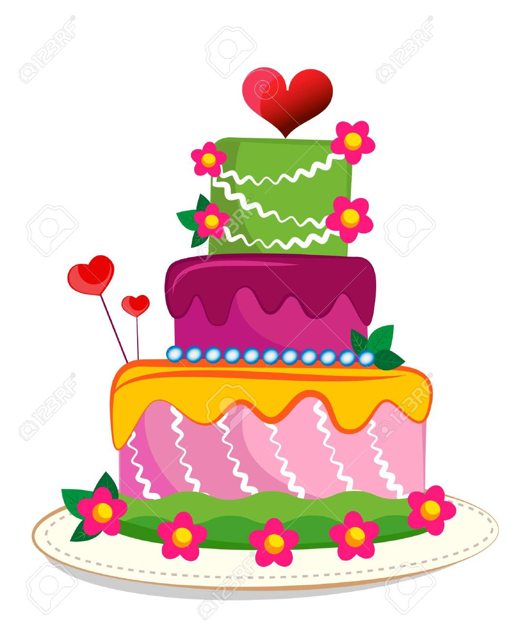 Tremendous Wedding Cake May Be Used On Wedding Birthday Party Or Funny Birthday Cards Online Elaedamsfinfo