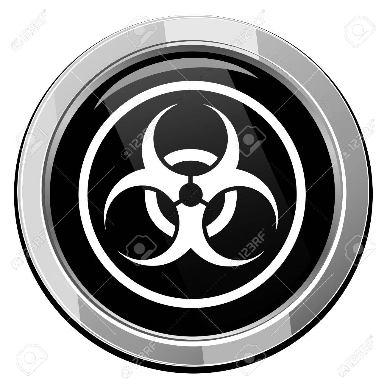 Warning symbol biohazard vector royalty free cliparts vectors and warning symbol biohazard vector stock vector 21535244 biocorpaavc Image collections